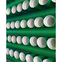 湖南汇昌管业HDPE双壁波纹管排污管下水管市政用管高抗压密度聚乙稀大口径