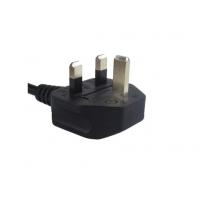 英式注塑插头电源线精工制作符合国际各项指令标准