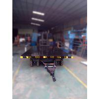 平板拖车厂家生产20吨平板运输车 全挂式