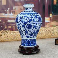 景德镇辰天陶瓷厂家专业定制1斤2斤3斤5斤陶瓷酒酒壶酒具