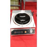 广东大功率台式电磁炉OEM厂家直销,餐饮业后厨专用电磁炉3.5KW凹面小炒炉