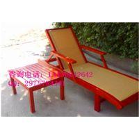 定制实木沙滩椅、躺椅、休闲椅