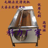 1.2米大姜去皮清洗机 土豆脱皮机 芋头清洗机价格