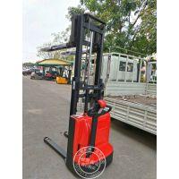 全电动堆高车 步行式电瓶搬运车 升高3.5米货架上货车