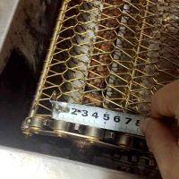 长尾夹冲洗输送流水线201不锈钢网带价格多少钱一米 乾德专业