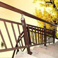 组装护窗栏杆,Q235荷泽锌钢楼梯护栏,荷泽组装楼梯扶手,喷塑靠墙扶手HC,