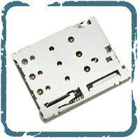 HN 卡座SIM卡座 Micro push 10p1.28H防反插防馈 超薄卡座SNO-1315-T