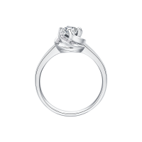 宜昌Dmallovo/玛丽莱钻石Blossom系列red rose 白18K金30分E色结婚钻戒