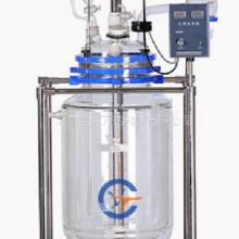 双层玻璃反应釜价格 型号:JY-RAT