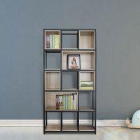 给爱书一个精致的书架选择哈中信钢木书架