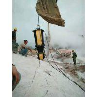 百色城建裂石机开山采石设备