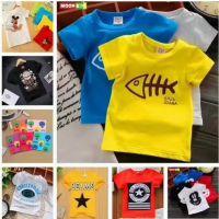 2018夏季新款儿童短袖T恤1-5元地摊热卖货源处理 2元服装批发市场