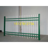 锌钢护栏铁艺围栏围墙栅栏铁栏杆小区厂区庭院篱笆热镀锌喷塑防锈