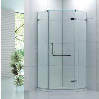 佛山卫浴简易淋浴房加厚轨道家用淋浴房两固两移对开淋浴门R030