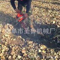 汽油手提式挖树机 小型断根移栽机 贵州果树移苗机