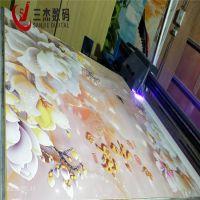 集成墙板UV理光打印机济南5d影视墙浮雕打印机厂家直销