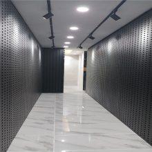 冲孔板方型铁板 瓷砖展示架网孔板尺寸 天津市铁板样品展架供应商