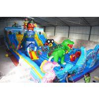 大型充气玩具--大闹天宫充气城堡大滑梯 厂家直销 质量保证