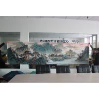 陶瓷山水瓷版画 定制瓷版画厂家