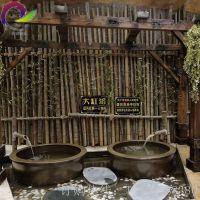 陶瓷泡澡缸 洗浴中心专用 极乐汤洗浴大缸