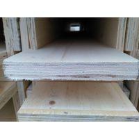 供应木质包装箱用杨木LVL免熏蒸木方 LVL定尺木板条 质优价廉