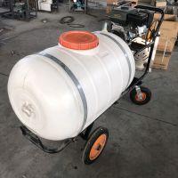 经销300L推车农药喷雾器 高压泵杀虫喷药机 移动式洒水车鲁强机械