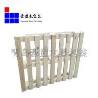 胶州木托盘厂家 供应木托盘尺寸样式定做四面进叉
