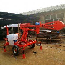 掏井底淤泥的工具臂长6米 全液压污水井清理销售 洪涛电力 厂家直销