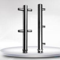 不锈钢分水器厂家 304不锈钢水表分水器 水表立柱 一户一表