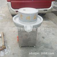 黑龙江 豆浆石磨机 电动石磨机 米浆肠粉石磨生产厂家 振德牌