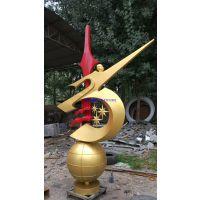 人物腾飞抽象雕塑 球体不锈钢公园建筑景观雕塑批发