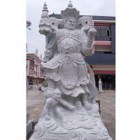 厂家定制四大天王石雕像花岗岩四大天王佛像