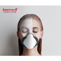 易能韦尔(Innerwell)智能电动防雾霾新风口罩除PM2.5甲醛花粉孕妇成人口罩 西瓜红