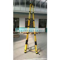 绝缘直梯 全绝缘2米伸缩梯供应商 绝缘梯材料 升降绝缘梯报价