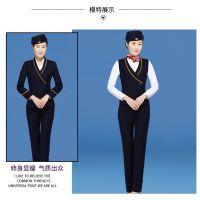 湖南长沙空姐制服职业套装航空马甲正装女套裙美容师工作服