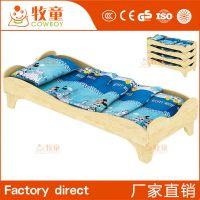 牧童幼儿园实木简约现代造型叠儿童实木叠叠床厂家床定制批发