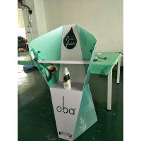 安迪板塑料展架定制工厂 东莞锦瀚展示设计助销物料和广告展示道具的工厂