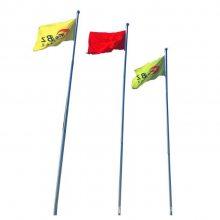 【金聚进】长期生产供应不锈钢锥形电动旗杆 手动旗杆