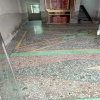 安徽六安市厂房水磨石翻新、阜阳市水磨石起灰处理、贵在坚持