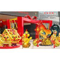 直销玻璃钢仿真公鸡雕塑 鸡年吉祥物摆件 商业活动金鸡雕塑摆件