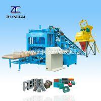 QTY4-15液压全自动砌块成型机生产线 全自动免烧制砖机设备