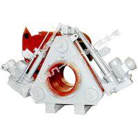 供应石家庄阀门一厂环球牌带波纹管电液推杆盲板阀 (QC243BX-2.5DN600-2000)