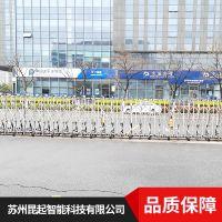 上海昆起优质不锈钢伸缩门手工工艺厂家报价