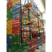儿童素质拓展设备,绳网探险攀爬架