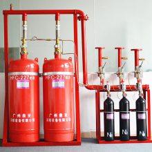 林州市气体灭火系统 有管网柜式悬挂式七氟丙烷