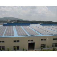 工商业厂房屋顶光伏太阳能发电系统 东龙分布式太阳能并网发电系统