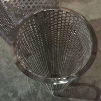 油污除杂小滤筒 圆法兰端盖不锈钢过滤筒【至尚】圆孔