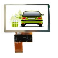 5寸LCD液晶显示屏 工控液晶屏 800*480液晶模块 模组 直销