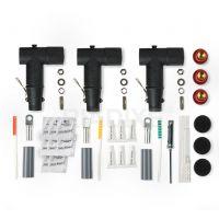 10-15kV欧式电缆分支箱前后插头T型插拔头可触摸接头