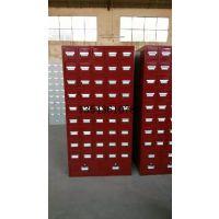 佛山顺德的厂生产玻璃层板框 药店玻璃货架中药斗柜 药橱药品分类抽屉柜 中草药钢制柜